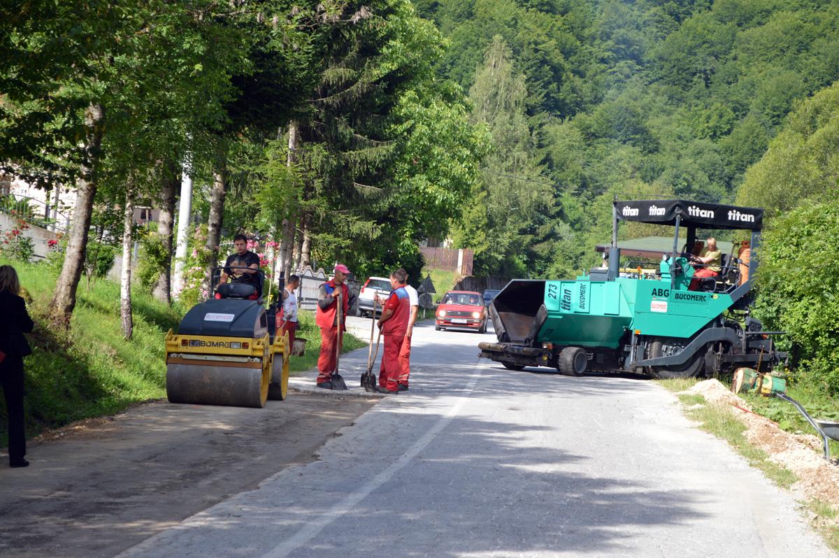 Ljetno održavanje cesta